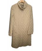 ()の古着「キルティングコート」|ベージュ