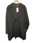 ()の古着「コート」|ブラック