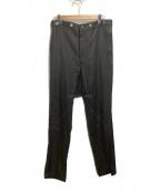 Maison MIHARA YASUHIRO(メゾン ミハラヤスヒロ)の古着「パンツ」|ブラック