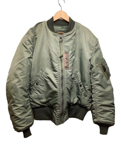 BUZZ RICKSON'S(バズリクソンズ)BUZZ RICKSON'S (バズリクソンズ) MA-1ジャケット グリーン サイズ:Lの古着・服飾アイテム