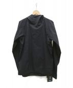 GOLDWIN(ゴールドウィン)の古着「フーデットプルオーバーST」|ブラック
