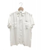 MADISON BLUE(マディソンブルー)の古着「ボーリングシャツ」|ホワイト