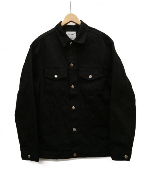 LAST HEAVY(ラストヘビー)LAST HEAVY (ラストヘビー) オーバーサイズデニムトラッカージャケット ブラック サイズ:Sの古着・服飾アイテム
