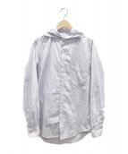 YohjiYamamoto pour homme(ヨウジヤマモトプールオム)の古着「ストライプシャツ」 ホワイト