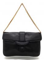 CELINE(セリーヌ)の古着「チェーンハンドバッグ」|ブラック