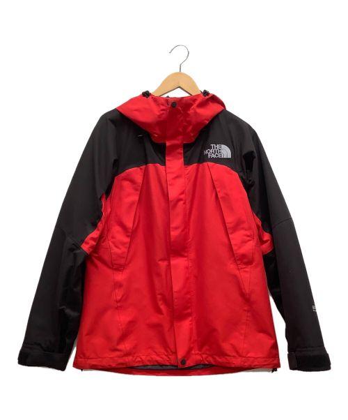 THE NORTH FACE(ザ ノース フェイス)THE NORTH FACE (ザ ノース フェイス) MOUNTAIN JACKET/マウンテンジャケット レッド×ブラック サイズ:Sの古着・服飾アイテム