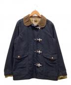 orSlow(オアスロウ)の古着「デッキフックジャケット」|ネイビー×ブラウン
