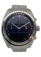 ()の古着「腕時計 Process Chrono M3 Silver」