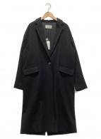 R-ISM(リズム)の古着「カシミヤコート」|ブラック
