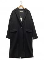 R-ISM(リズム)の古着「カシミヤコート」 ブラック