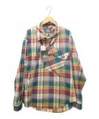 Vivienne Westwood man(ヴィヴィアン ウェストウッド マン)の古着「チェックシャツ」 マルチカラー