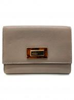 FENDI(フェンディ)の古着「財布」 ライトグレー