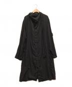 YOHJI YAMAMOTO()の古着「Coat with Stole」|ブラック