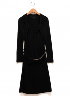 GUCCI(グッチ)の古着「タイトドレス」|ブラック