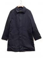 MACKINTOSH LONDON(マッキントッシュ ロンドン)の古着「ウールステンカラーコート」|ネイビー