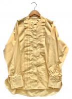 Demi-Luxe Beams(デミルクス ビームス)の古着「バンドカラーシャツ」 イエロー