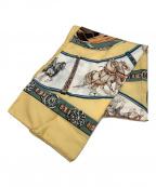 HERMES(エルメス)の古着「スカーフ」|イエロー