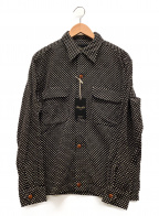 HAVERSACK(ハバーサック)の古着「シャツジャケット」 ブラック