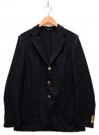 Errico Formicola(エリコフォルミコラ)の古着「3Bウールジャケット」|ネイビー