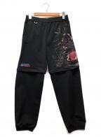 doublet(ダブレット)の古着「パンツ」 ブラック