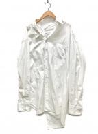 JUNYA WATANABE CdG(ジュンヤワタナベコムデギャルソン)の古着「アシンメトリーシャツ」 ホワイト