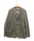 COMME des GARCONS HOMME(コムデギャルソン オム)の古着「ウールジャケット」 グリーン