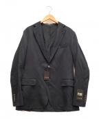 MACKINTOSH LONDON(マッキントッシュ ロンドン)の古着「絹混バランサージャケット」 ブラック