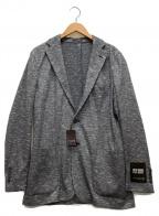MACKINTOSH LONDON(マッキントッシュ ロンドン)の古着「ムリネジャージジャケット」 グレー