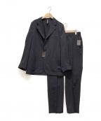 MACKINTOSH LONDON(マッキントッシュ ロンドン)の古着「セットアップカルゼジャケット」 ブラック