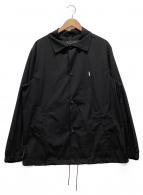 ()の古着「コーチジャケット」|ブラック