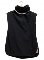 ()の古着「STRETCH GATHERED TOP」|ブラック