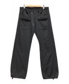 ()の古着「フロントポケットジョガーパンツ」 ブラック