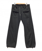 YOHJI YAMAMOTO(ヨウジヤマモト)の古着「フロントポケットジョガーパンツ」 ブラック