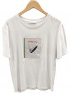 J.W. ANDERSON(ジェイダブリューアンダーソン)の古着「プリントTシャツ」|ホワイト