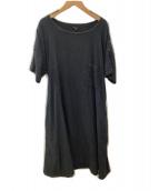 ()の古着「リネンワンピース」|ブラック