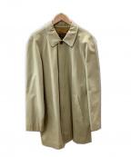 Paul Stuart(ポールスチュアート)の古着「ステンカラーコート」|ベージュ