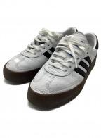 adidas(アディダス)の古着「ローカットスニーカー サンバローズ」|ホワイト×ブラウン