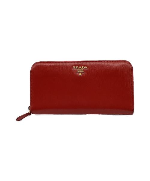 PRADA(プラダ)PRADA (プラダ) 財布 レッド 1ML506の古着・服飾アイテム