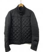 MONCLER()の古着「フレディライダースダウンジャケット」|ブラック