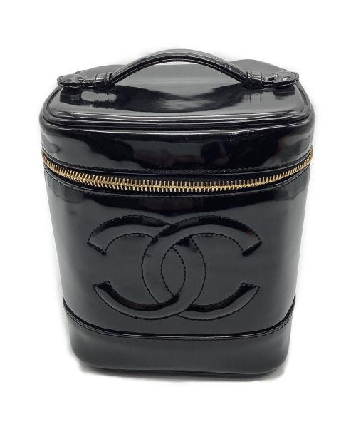 CHANEL(シャネル)CHANEL (シャネル) バニティバッグ ブラック 4167217の古着・服飾アイテム