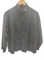 GROUND Y(グラウンドワイ)の古着「チャイナシャツ」 ブラック
