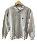 Champion(チャンピオン)の古着「スウェットジャケット」|グレー