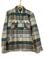 Ron Herman(ロンハーマン)の古着「CPOジャケット」|ブラウン×グリーン