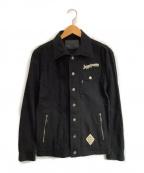JACKROSE(ジャックローズ)の古着「シャツジャケット」 ブラック