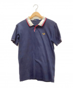 FRED PERRY()の古着「ポロシャツ」|ネイビー