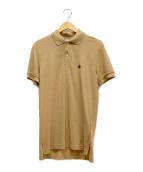 BROOKS BROTHERS(ブルックスブラザーズ)の古着「ポロシャツ」|ベージュ