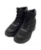 ZARA(ザラ)の古着「ショートブーツ」|ブラック