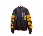 DIESEL(ディーゼル)の古着「ボンバージャケット」|ブラック×グレー