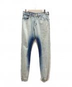 LEFLAH(レフラー)の古着「ジョガーパンツ」|インディゴ