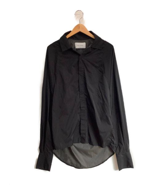 BIANCA SAUNDERS(ビアンカ サンダース)BIANCA SAUNDERS (ビアンカ サンダース) シャツ ブラック サイズ:M 未使用品の古着・服飾アイテム
